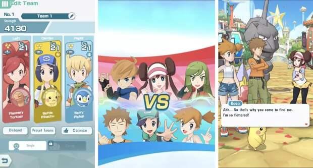 Какой будет новая игра Nintendo — Pokemon Masters