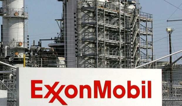 Впервые ExxonMobil показала годовой убыток