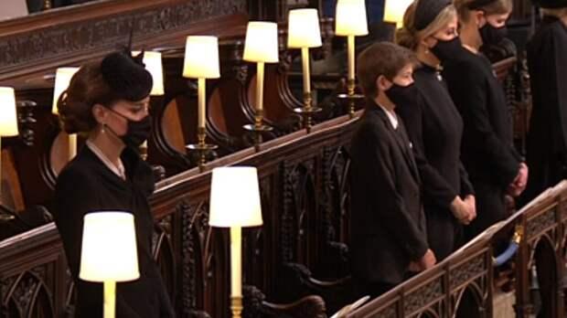 Церемония прощания с принцем Филиппом началась в Виндзоре