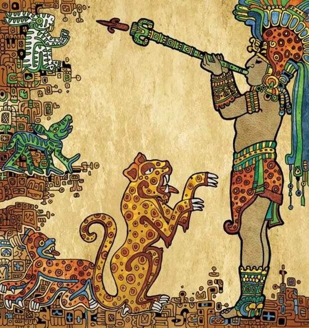 «Пополь-Вух» - «Книга Народа» индейцев Майя