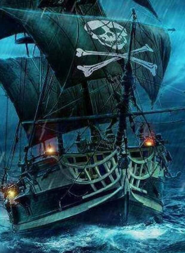 Англия - страна Пиратия