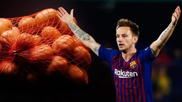 «Янемешок картошки». Ракитич высказался освоем будущем в«Барселоне»