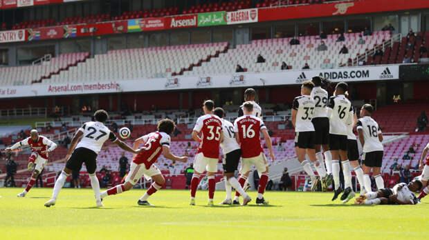 «Арсенал» сыграл вничью с «Фулхэмом» в матче АПЛ