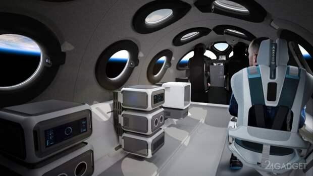 Virgin Galactic открыла виртуальные экскурсии в салон туристического космического корабля