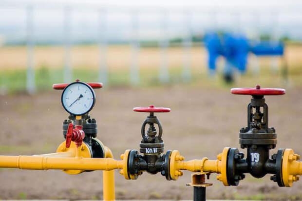 Газопровод в поселке