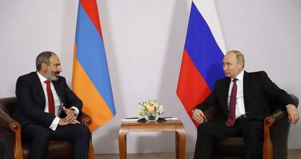 Путин и Пашинян