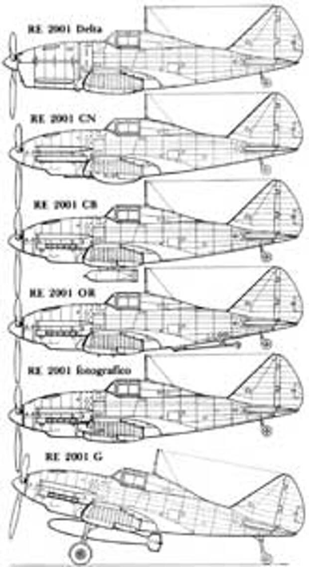 Варианты самолета