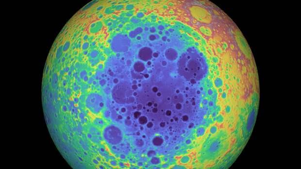 Южный полюс Луны прячет массивную аномалию