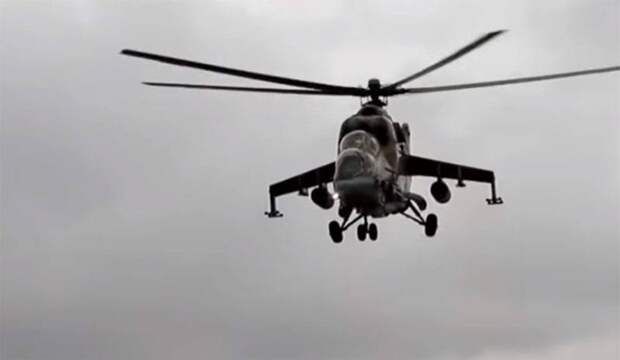 Бой экипажа вертолёта, Афганистан