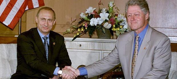 Как проходили первые встречи Путина с президентами США