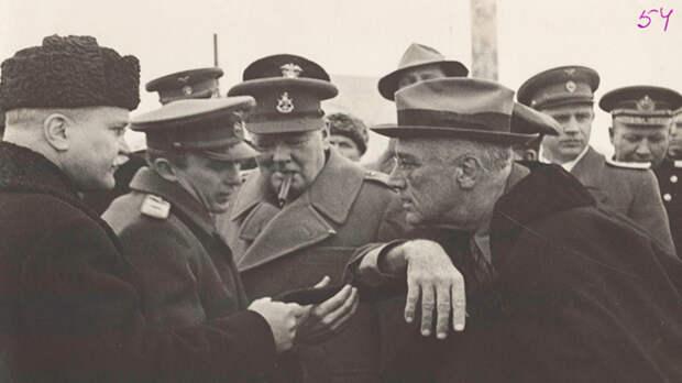 К мужчинам в юбках не поеду: Самые невероятные факты о Ялтинской конференции