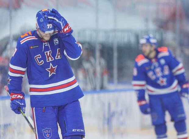 Самонов грубо ошибся на выходе, Марченко забил в свои ворота...Как «Автомобилист» прервал трёхматчевую победную серию СКА