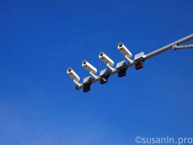 На перекрестке улиц Майской и Удмуртской в Ижевске появились камеры видеофиксации