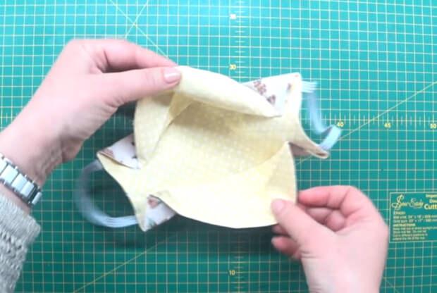 Шьем маску за 15 минут. Идеально подходит для холодной погоды