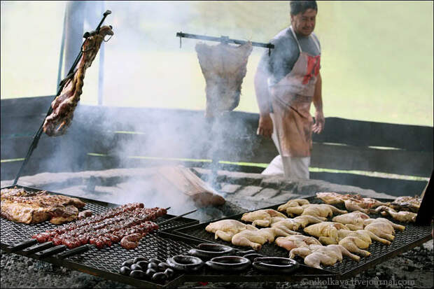 Аргентинские гаучо