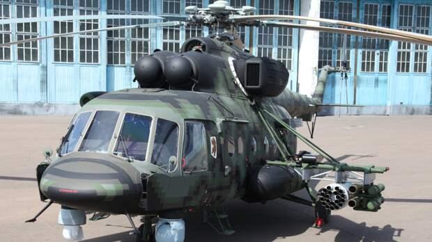 Российские войска примут вертолеты Ми-8АМТШ-ВН в ноябре 2021 года