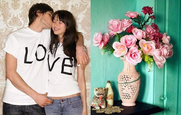 Романтика и любовь в фотографиях