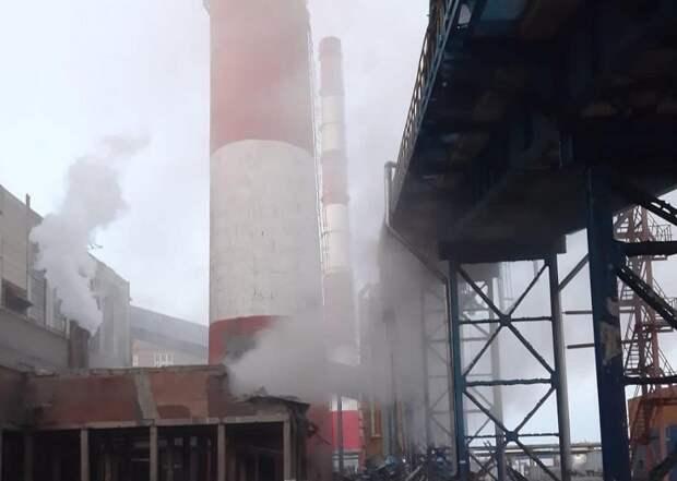 Обрушение трубы Барнаульской ТЭЦ-2 оставило часть города без тепла и горячей воды