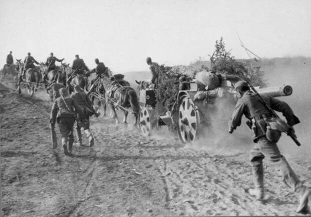 Трофейные 105-мм пушки и 150-мм тяжелые полевые гаубицы на службе в РККА