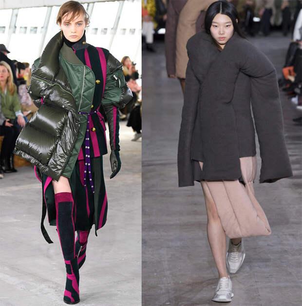 Какие куртки в моде в 2018-2019-м