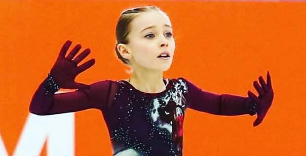 11-летняя ученица Плющенко зачитала стихотворение русского классика: милое видео
