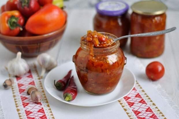 Овощной салат на зиму — вкусный и ароматный