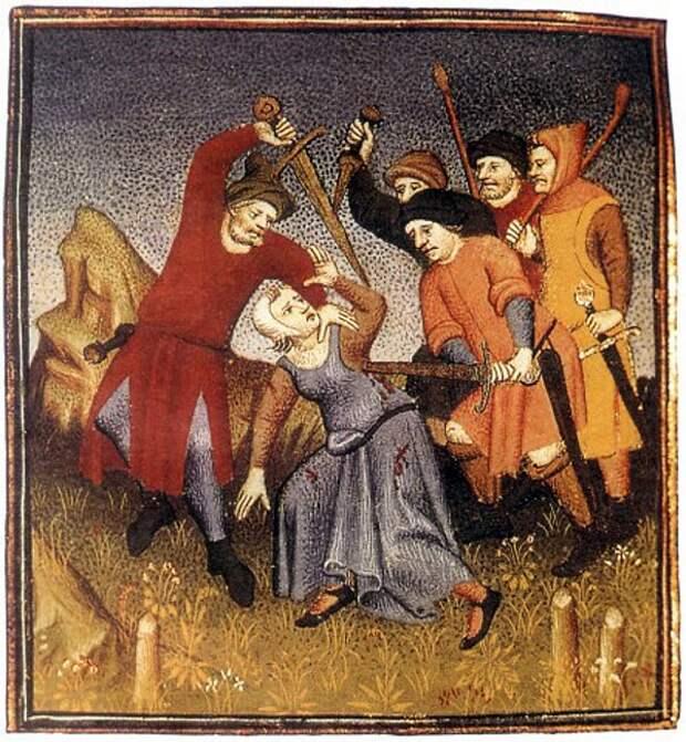 Бродяги и нищие в Средние века 7