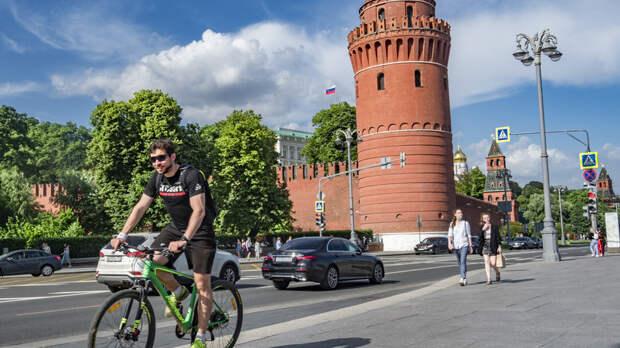 В Москве 19 июня ожидается до +31 °С