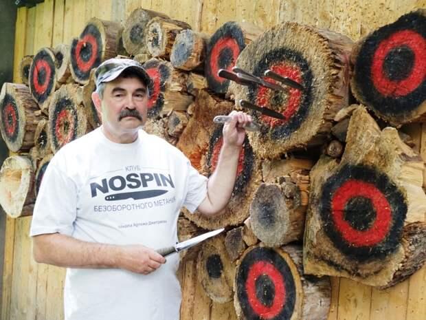 Житель Северного Тушина выиграл турнир по метанию ножей