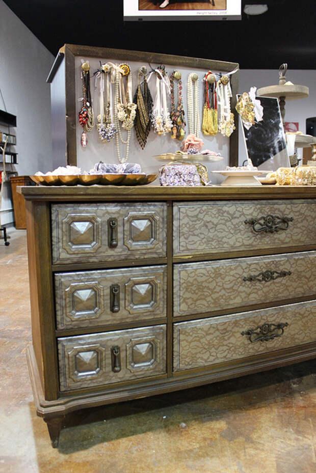 Преображение старой мебели до неузнаваемости за считанные минуты