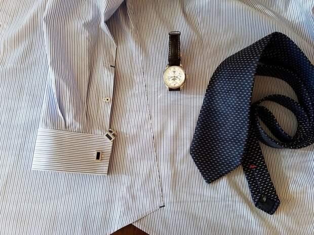 Ретро обработка ластовицы в мужской рубашке
