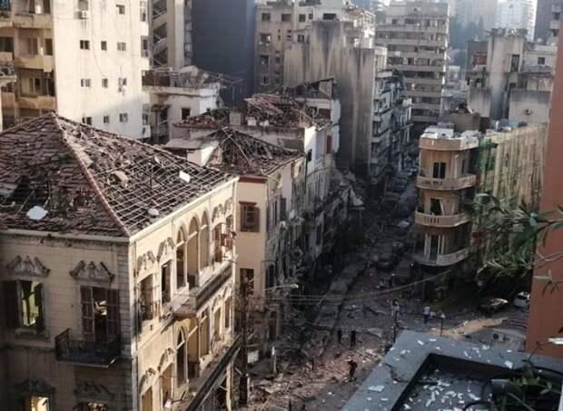 Двоих россиян, подозреваемых в причастности к взрыву в порту Бейрута, будет искать Интерпол