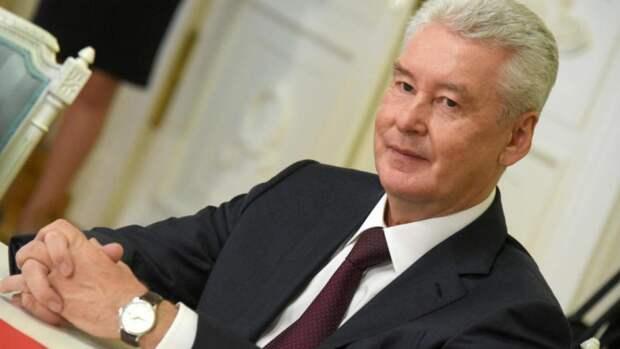 Собянин в прошлом году заработал 8,24 млн рублей