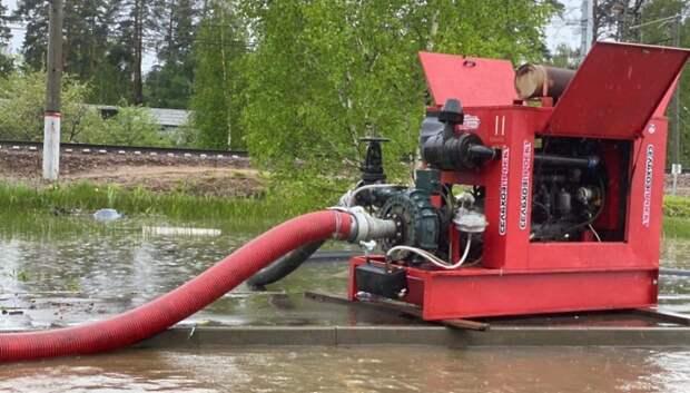Подмосковные власти оценили нагрузку на систему сбора воды после ливня