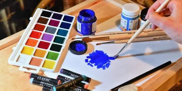 В семейном центра «Западное Дегунино» для воспитания школьников стали применять арт-терапию