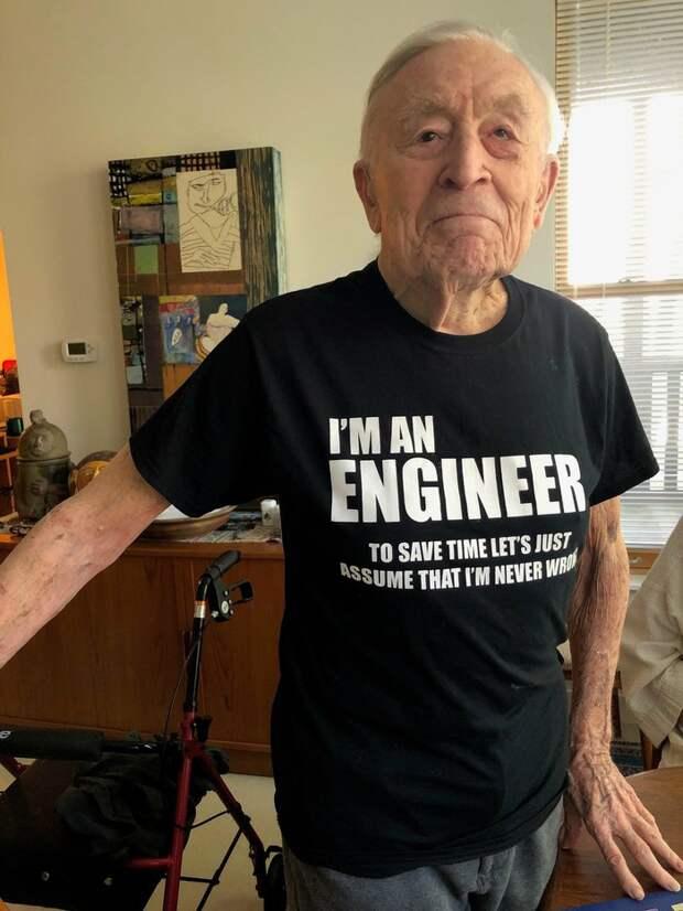 Футболка инженера