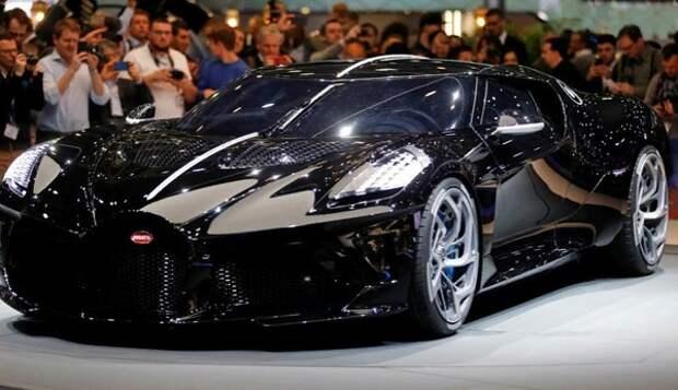 Bugatti представила «самый дорогой автомобиль в истории» La Voiture Noire