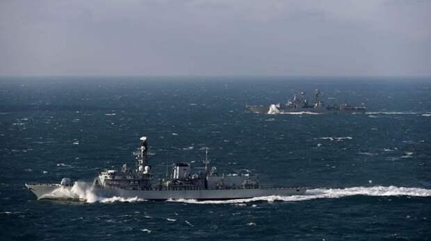 В МИД РФ объяснили смысл захода ВМС Великобритании в Черное море