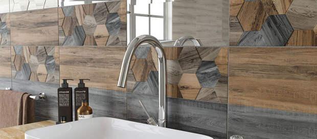 Роль плитки Керамин в интерьере ванной комнаты