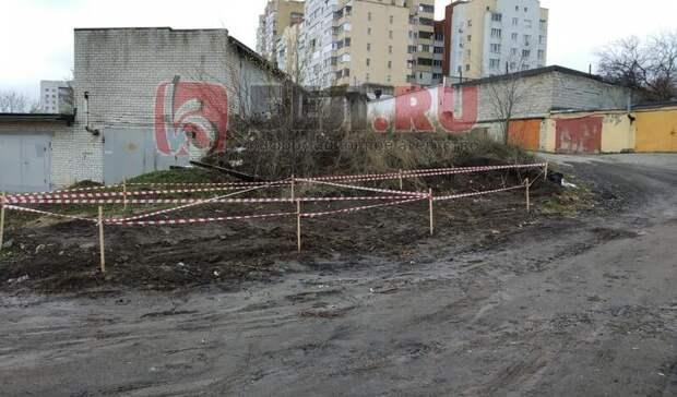 ВБелгороде ликвидировали незаконную свалку, нобелгородцы продолжают тащить мусор