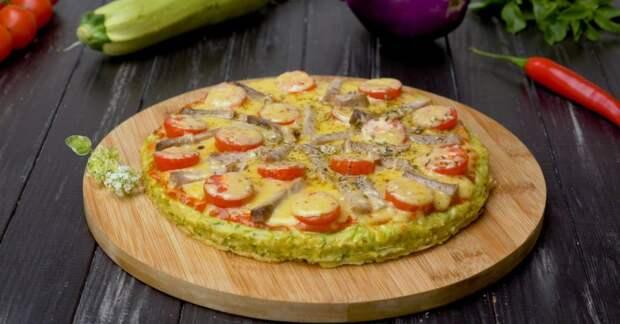 Как приготовить пиццу из кабачков