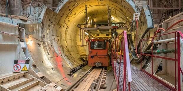 Собянин рассказал о строительстве западного участка БКЛ метро / Фото: mos.ru