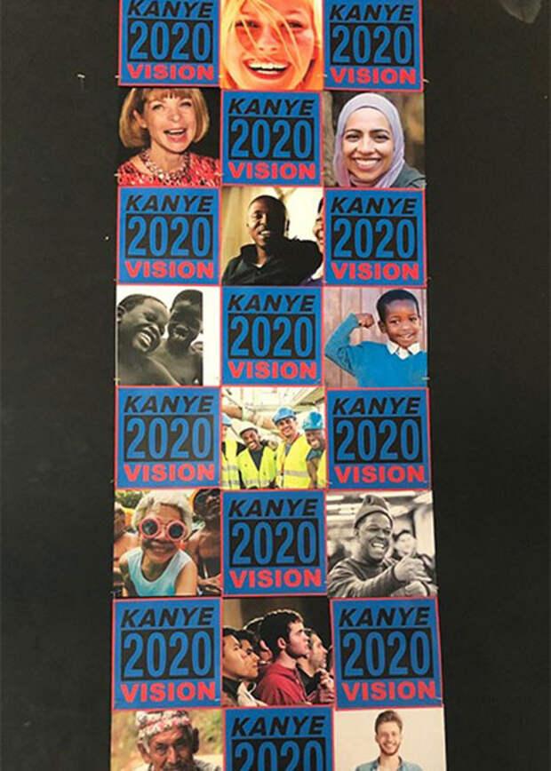 Кирстен Данст прокомментировала свое появление на предвыборном плакате Канье Уэста
