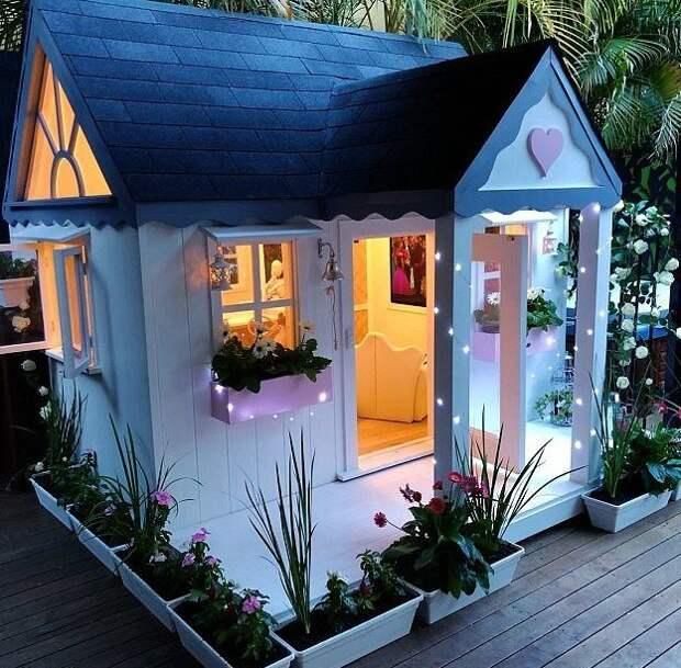 Недавно родители подарили дочери маленький домик стоимостью $5000 Instagram, Квинсленд, Милли-Белль Даймонд, австралия, домик, роскошь, фото