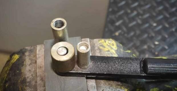Как сделать гибочный станок для стального прутка