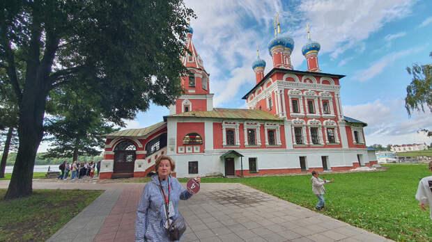 Церковь Царевича Дмитрия на крови. 1692 год. Углич