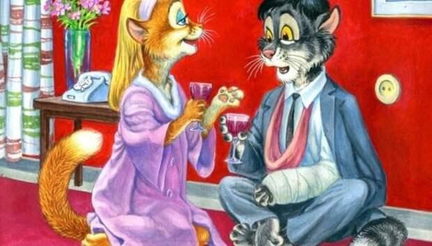 От «Бриллиантовой руки» до «Криминального чтива»: художник заменил актеров милыми котами