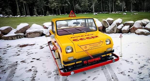 Советская мотоколяска, стоимостью более 1 млн рублей