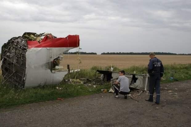 Европарламент возложили вину на Украину за крушение MH17 под Донецком