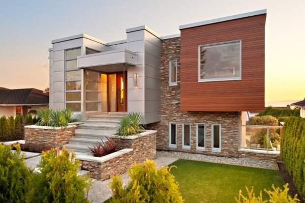 Лучшие материалы для отделки фасада - камень